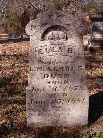 DUNN, EULA B - Calhoun County, Arkansas | EULA B DUNN - Arkansas Gravestone Photos