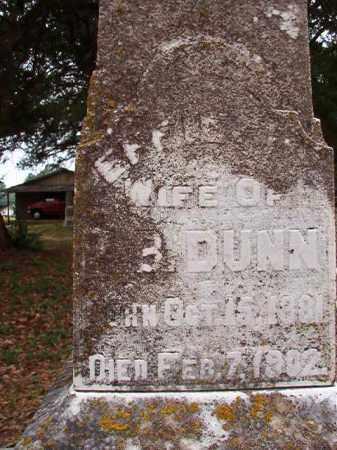 DUNN, EFFIE M - Calhoun County, Arkansas | EFFIE M DUNN - Arkansas Gravestone Photos