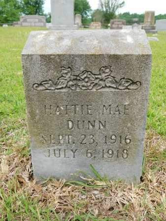 DUNN, HATTIE MAE - Calhoun County, Arkansas   HATTIE MAE DUNN - Arkansas Gravestone Photos