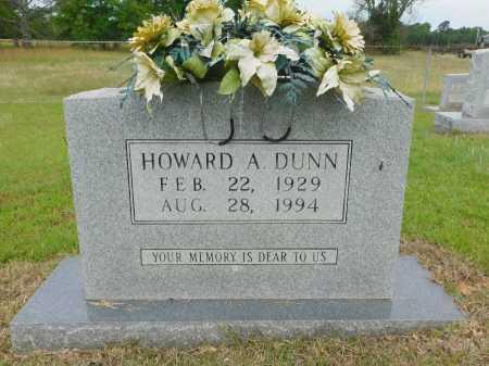 DUNN, HOWARD A - Calhoun County, Arkansas | HOWARD A DUNN - Arkansas Gravestone Photos