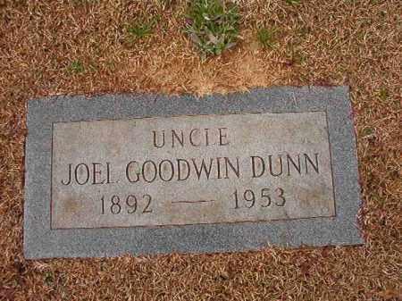 DUNN, JOEL GOODWIN - Calhoun County, Arkansas | JOEL GOODWIN DUNN - Arkansas Gravestone Photos