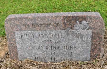 DUNN, JERRY RANDALL - Calhoun County, Arkansas | JERRY RANDALL DUNN - Arkansas Gravestone Photos