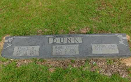 REDDIN DUNN, MABLE - Calhoun County, Arkansas | MABLE REDDIN DUNN - Arkansas Gravestone Photos