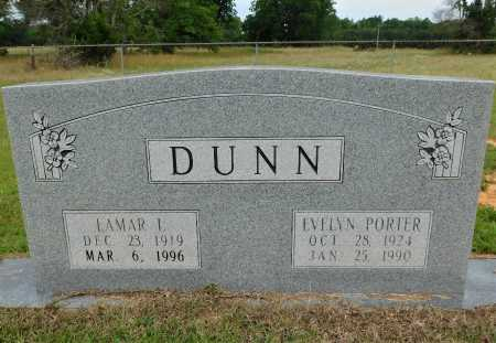 PORTER DUNN, EVELYN - Calhoun County, Arkansas | EVELYN PORTER DUNN - Arkansas Gravestone Photos