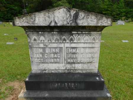 DUNN, L M - Calhoun County, Arkansas | L M DUNN - Arkansas Gravestone Photos