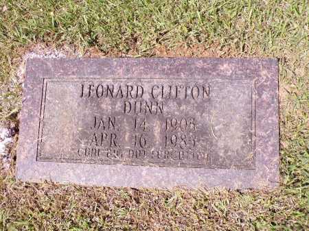 DUNN, LEONARD CLIFTON (OBIT) - Calhoun County, Arkansas | LEONARD CLIFTON (OBIT) DUNN - Arkansas Gravestone Photos