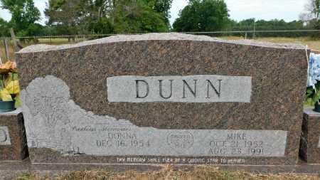DUNN, MIKE - Calhoun County, Arkansas | MIKE DUNN - Arkansas Gravestone Photos