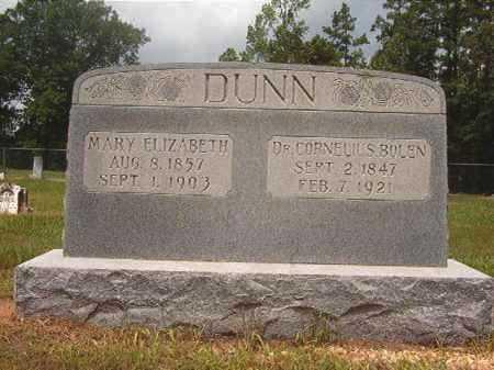 DUNN, MARY ELIZABETH - Calhoun County, Arkansas   MARY ELIZABETH DUNN - Arkansas Gravestone Photos