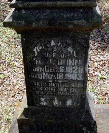 DUNN, MARY - Calhoun County, Arkansas | MARY DUNN - Arkansas Gravestone Photos