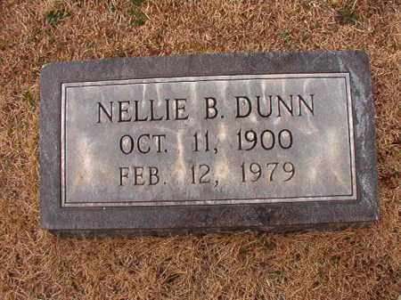 DUNN, NELLIE B - Calhoun County, Arkansas | NELLIE B DUNN - Arkansas Gravestone Photos