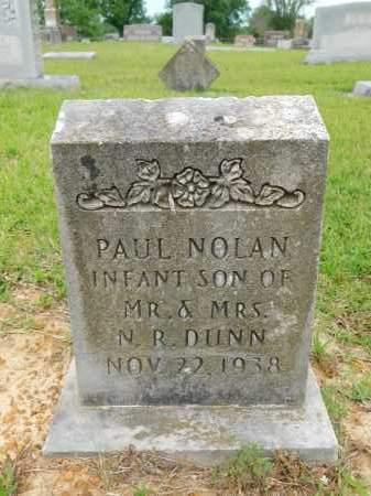 DUNN, PAUL NOLAN - Calhoun County, Arkansas | PAUL NOLAN DUNN - Arkansas Gravestone Photos