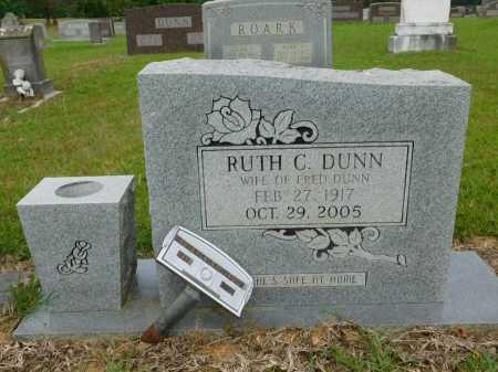 DUNN, RUTH CATHINE - Calhoun County, Arkansas | RUTH CATHINE DUNN - Arkansas Gravestone Photos