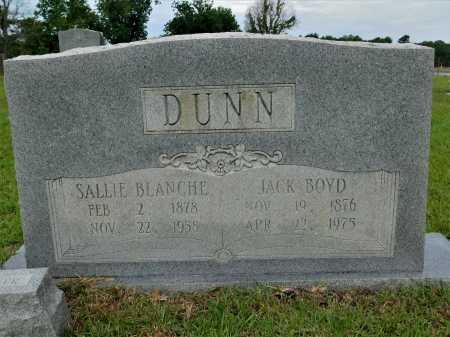 DUNN, JACK BOYD - Calhoun County, Arkansas | JACK BOYD DUNN - Arkansas Gravestone Photos