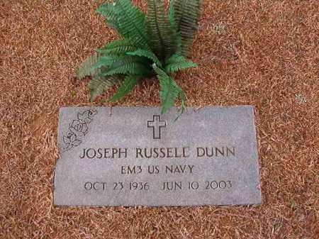 DUNN (VETERAN), JOSEPH RUSSELL - Calhoun County, Arkansas | JOSEPH RUSSELL DUNN (VETERAN) - Arkansas Gravestone Photos