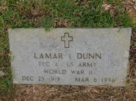 DUNN (VETERAN WWII), LAMAR I - Calhoun County, Arkansas | LAMAR I DUNN (VETERAN WWII) - Arkansas Gravestone Photos