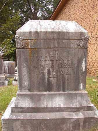 DUNN, W C - Calhoun County, Arkansas | W C DUNN - Arkansas Gravestone Photos