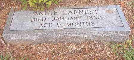 EARNEST, ANNIE - Calhoun County, Arkansas | ANNIE EARNEST - Arkansas Gravestone Photos