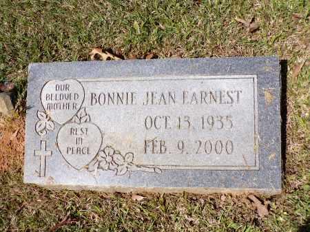 EARNEST, BONNIE JEAN - Calhoun County, Arkansas | BONNIE JEAN EARNEST - Arkansas Gravestone Photos