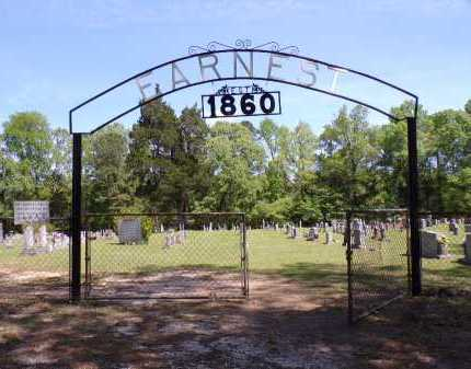 *EARNEST CEMETERY GATE,  - Calhoun County, Arkansas |  *EARNEST CEMETERY GATE - Arkansas Gravestone Photos