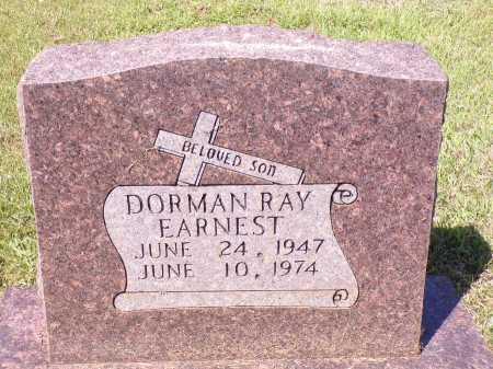 EARNEST, DORMAN RAY - Calhoun County, Arkansas | DORMAN RAY EARNEST - Arkansas Gravestone Photos