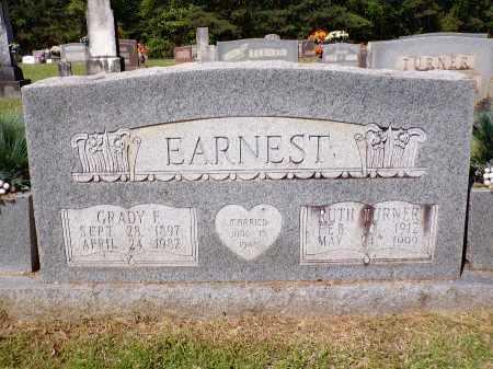 EARNEST, GRADY FRANKLIN - Calhoun County, Arkansas | GRADY FRANKLIN EARNEST - Arkansas Gravestone Photos