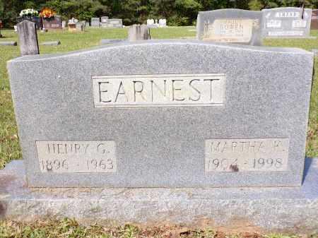 EARNEST, HENRY G - Calhoun County, Arkansas | HENRY G EARNEST - Arkansas Gravestone Photos