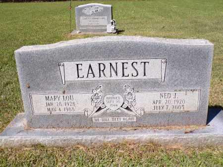 EARNEST, NED JACKSON - Calhoun County, Arkansas | NED JACKSON EARNEST - Arkansas Gravestone Photos
