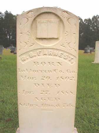 EARNEST, ROBERT B - Calhoun County, Arkansas   ROBERT B EARNEST - Arkansas Gravestone Photos