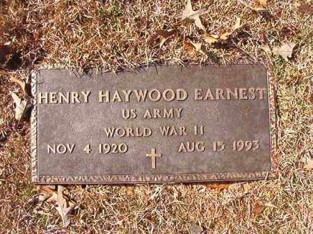 EARNEST (VETERAN WWII), HENRY HAYWOOD - Calhoun County, Arkansas   HENRY HAYWOOD EARNEST (VETERAN WWII) - Arkansas Gravestone Photos