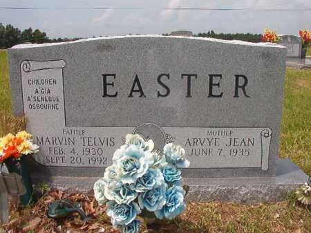 EASTER, MARVIN TELVIS - Calhoun County, Arkansas   MARVIN TELVIS EASTER - Arkansas Gravestone Photos