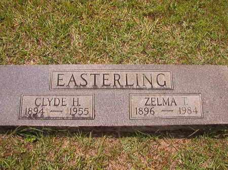 EASTERLING, ZELMA T - Calhoun County, Arkansas | ZELMA T EASTERLING - Arkansas Gravestone Photos