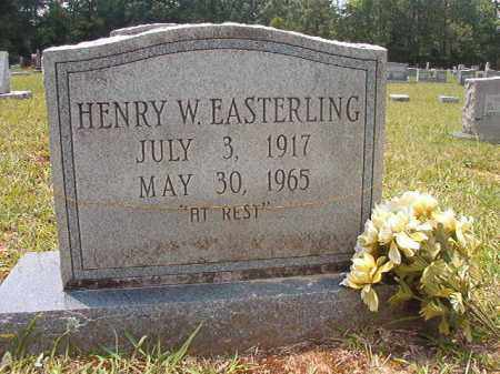 EASTERLING, HENRY W - Calhoun County, Arkansas | HENRY W EASTERLING - Arkansas Gravestone Photos