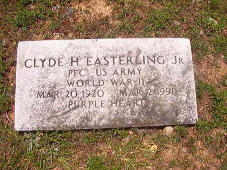 EASTERLING, JR (VETERAN WWII), CLYDE H - Calhoun County, Arkansas | CLYDE H EASTERLING, JR (VETERAN WWII) - Arkansas Gravestone Photos
