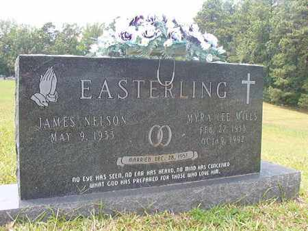 MILLS EASTERLING, MYRA LEE - Calhoun County, Arkansas | MYRA LEE MILLS EASTERLING - Arkansas Gravestone Photos
