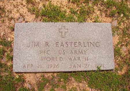 EASTERLING (VETERAN WWII), JIM R - Calhoun County, Arkansas | JIM R EASTERLING (VETERAN WWII) - Arkansas Gravestone Photos