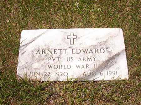 EDWARDS (VETERAN WWII), ARNETT - Calhoun County, Arkansas | ARNETT EDWARDS (VETERAN WWII) - Arkansas Gravestone Photos