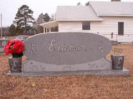 ERICKSON, ALEX W - Calhoun County, Arkansas | ALEX W ERICKSON - Arkansas Gravestone Photos
