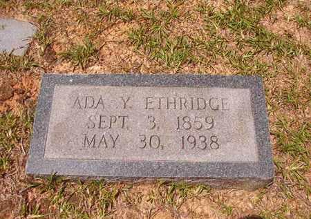 ETHRIDGE, ADA YOUNG - Calhoun County, Arkansas | ADA YOUNG ETHRIDGE - Arkansas Gravestone Photos