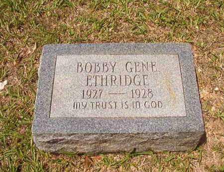 ETHRIDGE, BOBBY GENE - Calhoun County, Arkansas | BOBBY GENE ETHRIDGE - Arkansas Gravestone Photos