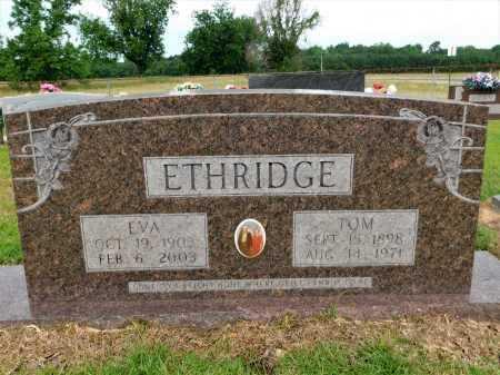 ETHRIDGE, EVA - Calhoun County, Arkansas | EVA ETHRIDGE - Arkansas Gravestone Photos