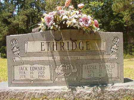 ETHRIDGE, JACK EDWARD - Calhoun County, Arkansas | JACK EDWARD ETHRIDGE - Arkansas Gravestone Photos