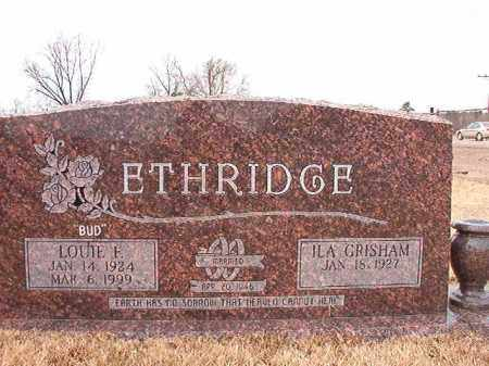 ETHRIDGE, LOUIE FURZELL - Calhoun County, Arkansas   LOUIE FURZELL ETHRIDGE - Arkansas Gravestone Photos