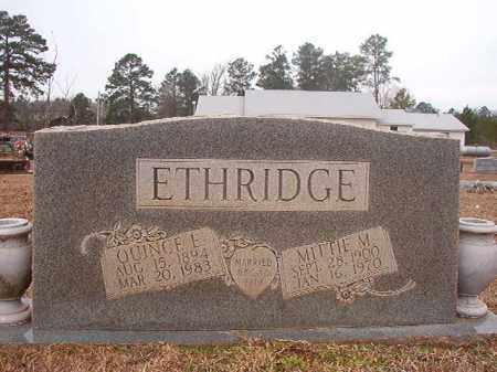 ETHRIDGE, MITTIE M - Calhoun County, Arkansas | MITTIE M ETHRIDGE - Arkansas Gravestone Photos