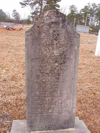 ETHRIDGE, T J C - Calhoun County, Arkansas   T J C ETHRIDGE - Arkansas Gravestone Photos