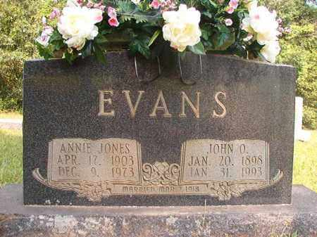 EVANS, JOHN ONOM - Calhoun County, Arkansas   JOHN ONOM EVANS - Arkansas Gravestone Photos