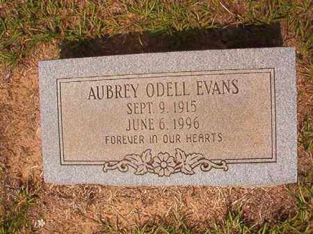 EVANS, AUBREY ODELL - Calhoun County, Arkansas   AUBREY ODELL EVANS - Arkansas Gravestone Photos
