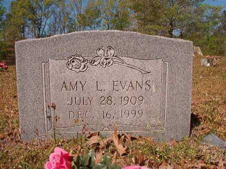 EVANS, AMY L - Calhoun County, Arkansas | AMY L EVANS - Arkansas Gravestone Photos