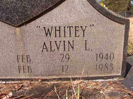 "EVANS, ALVIN L ""WHITEY"" (CLOSEUP) - Calhoun County, Arkansas | ALVIN L ""WHITEY"" (CLOSEUP) EVANS - Arkansas Gravestone Photos"