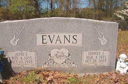 EVANS, ALVIS J - Calhoun County, Arkansas | ALVIS J EVANS - Arkansas Gravestone Photos