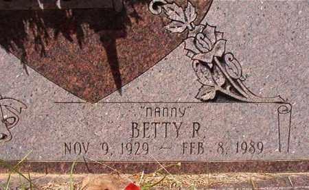 EVANS, BETTY R (CLOSEUP) - Calhoun County, Arkansas   BETTY R (CLOSEUP) EVANS - Arkansas Gravestone Photos